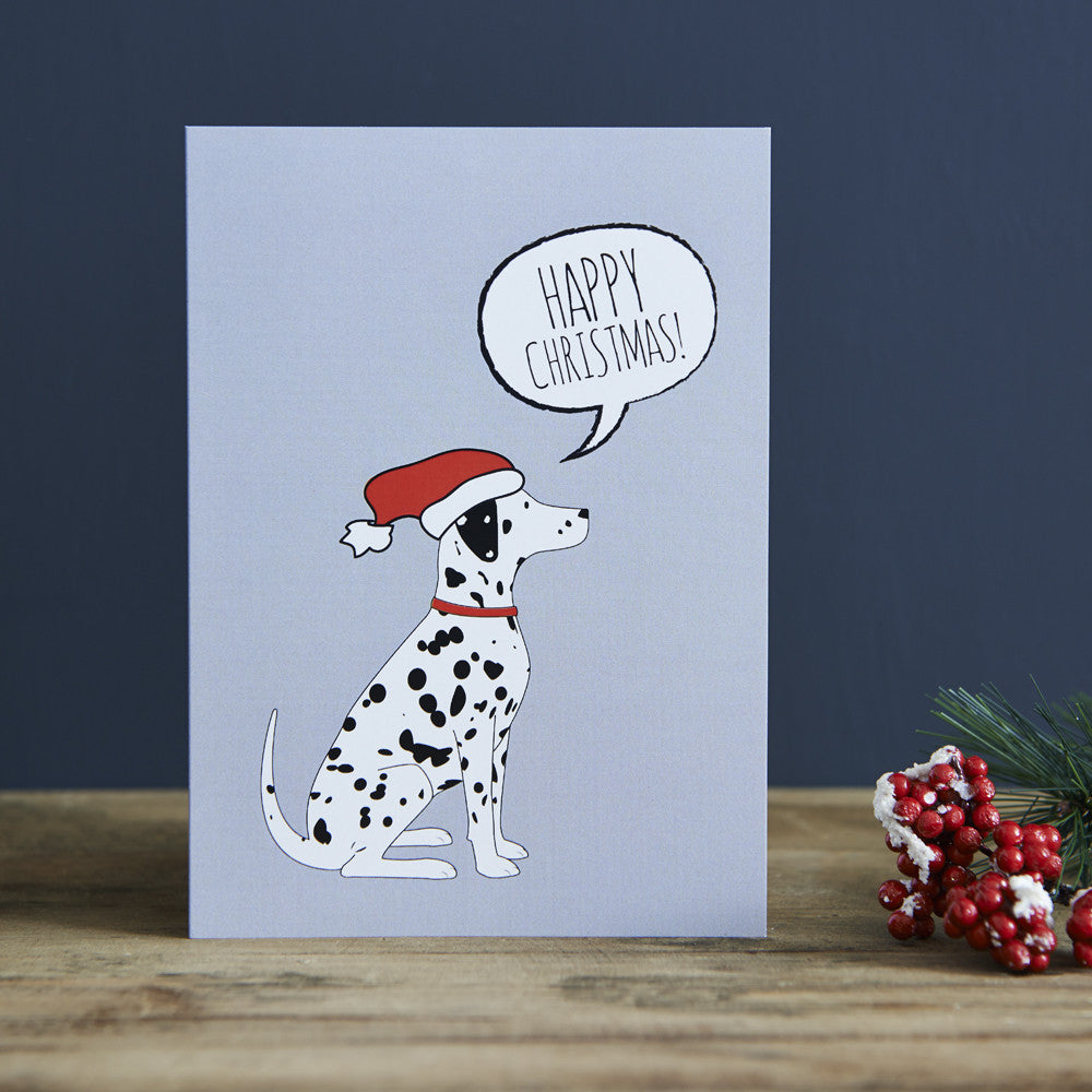 DALMATION CHRISTMAS CARD - Fernie's Choice Classic Country Wear for Dogs