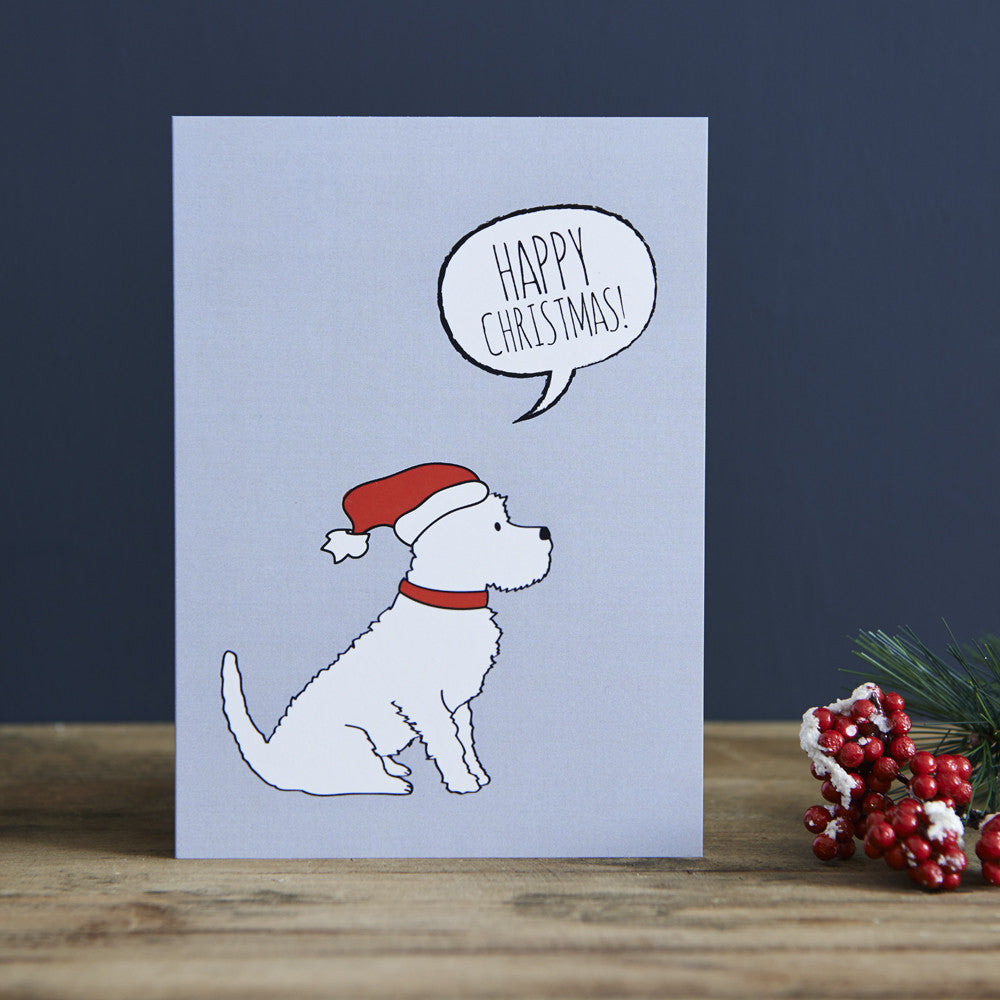 WESTIE CHRISTMAS CARD - Fernie's Choice Classic Country Wear for Dogs
