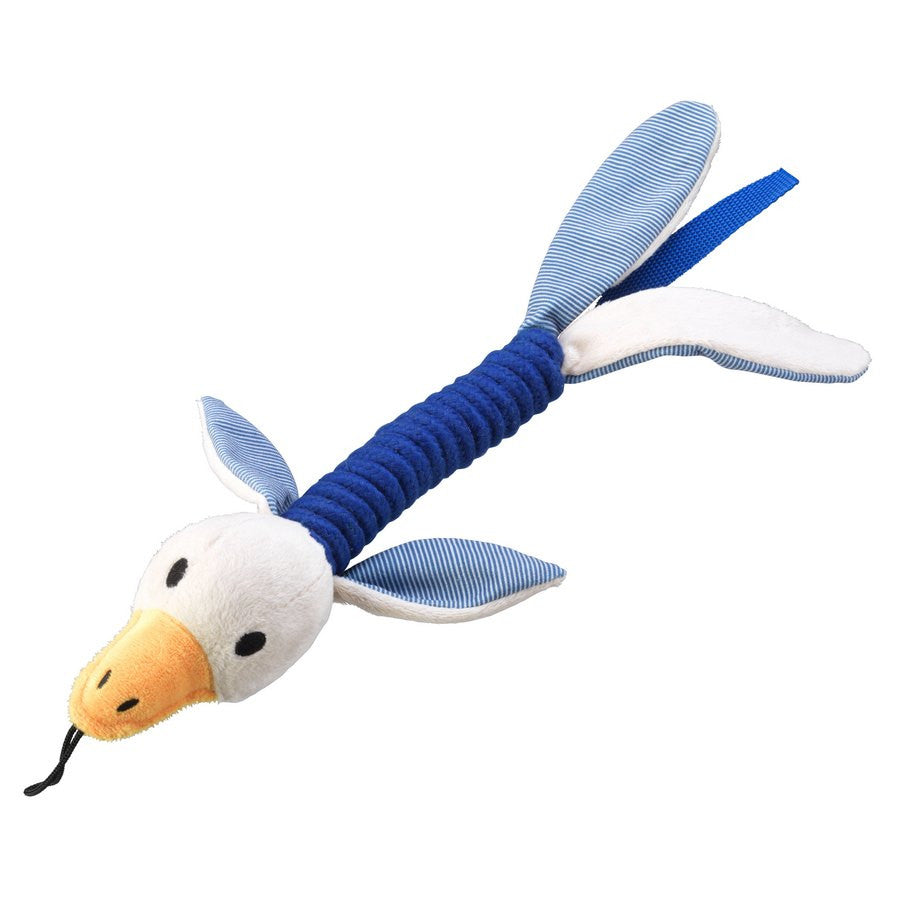 Duck Rope Thrower Dog Toy - Blue - Fernie's Choice