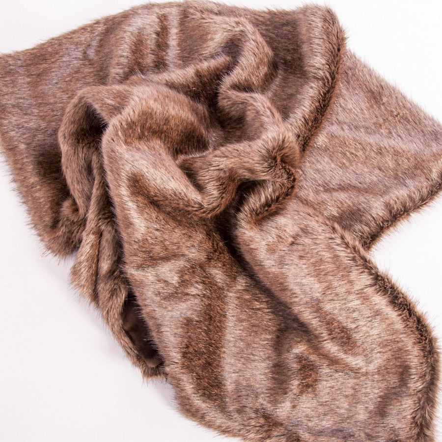 Faux Fur Luxury Pet Blanket - Brown Bear - Fernie's Choice Classic Country Wear for Dogs