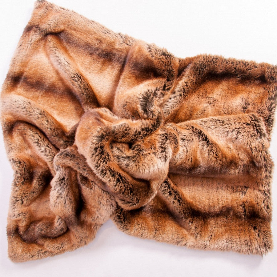 Faux Fur Luxury Pet Blanket and Sofa Dog Throw - Madagascar - Fernie's Choice