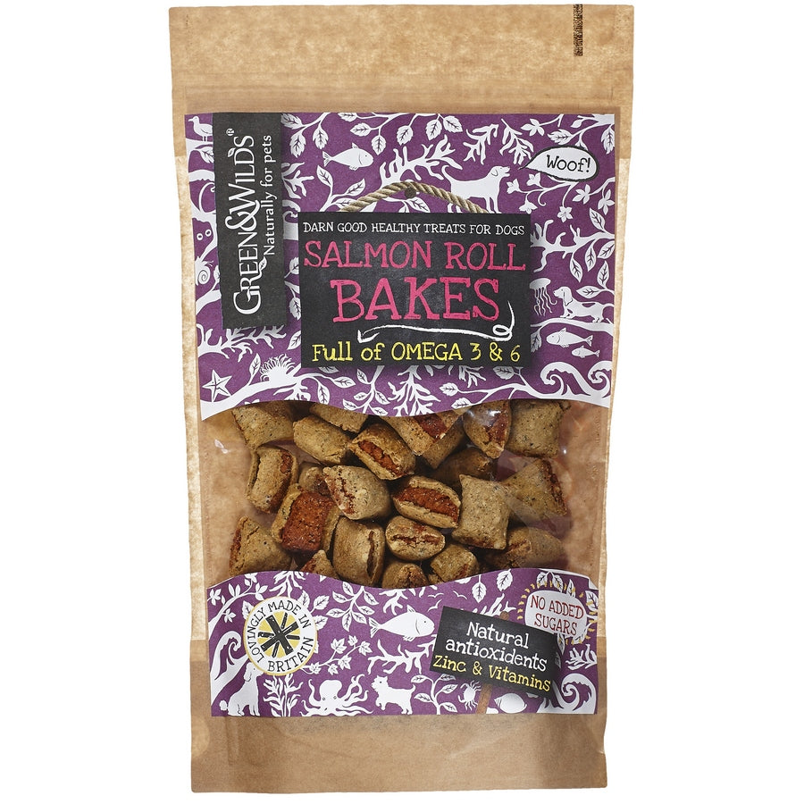 Salmon Roll Bakes 150g - Fernie's Choice Classic Country Wear for Dogs