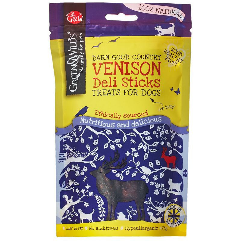 Green & Wilds Venison Dog Treats - Fernie's Choice Classic Country Wear for Dogs