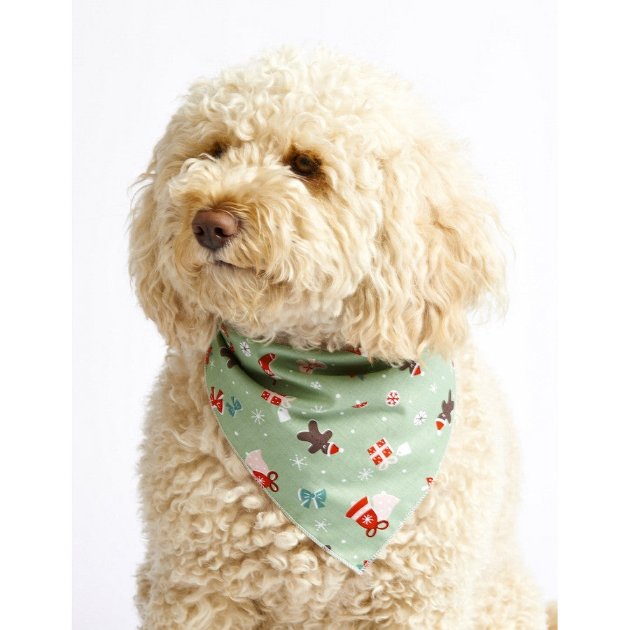 *Gingerbread Man Dog Bandana - Fernie's Choice Classic Country Wear for Dogs