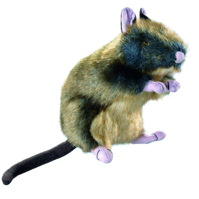 Hunter Wildlife Squeaky Rat Toy - Fernie's Choice Classic Country Wear for Dogs