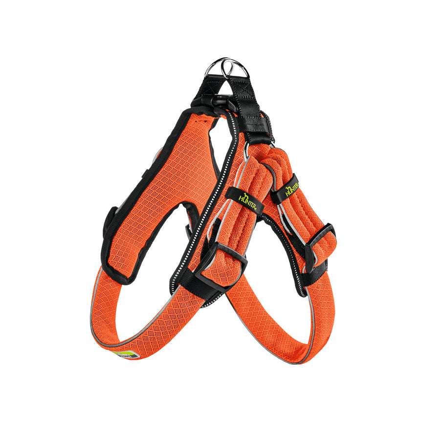 Hunter Manoa Vario Quick Light Harness - Orange - Fernie's Choice Classic Country Wear for Dogs