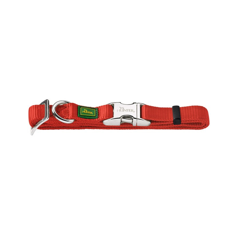Hunter Nylon Dog Collar - Red - Fernie's Choice Classic Country Wear for Dogs