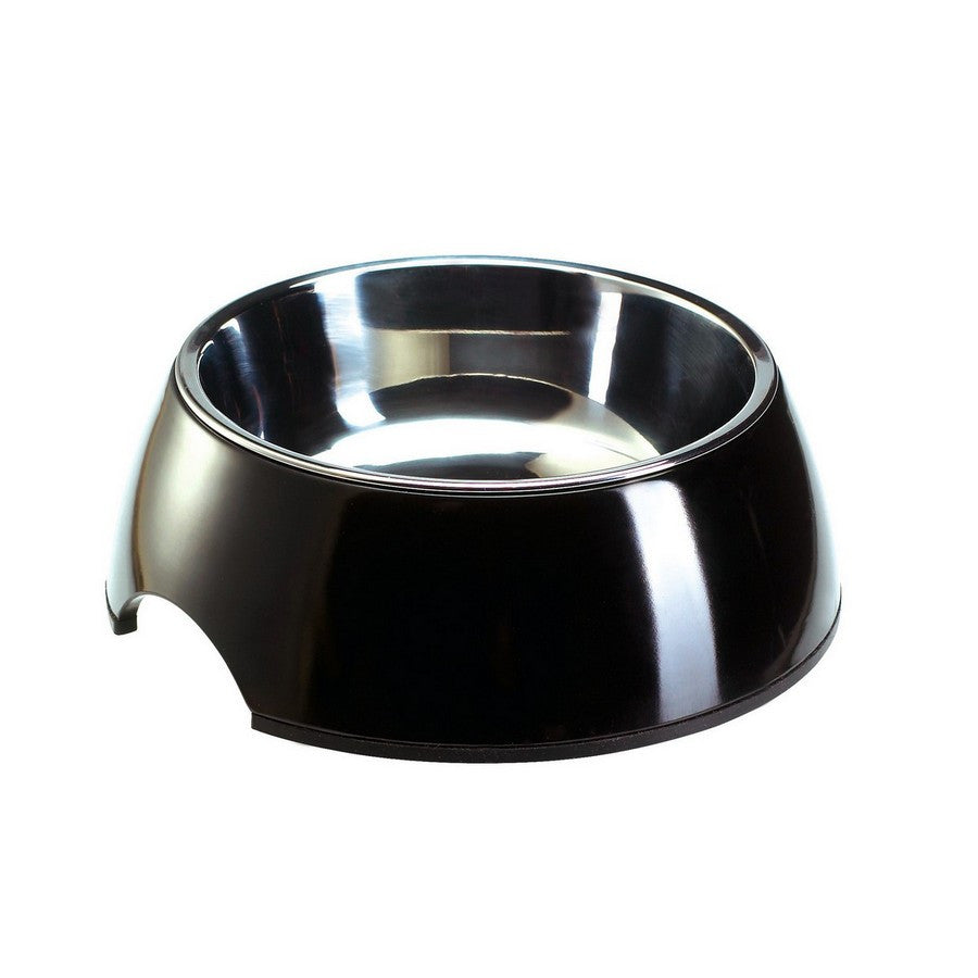 Melamine Black Dog Bowl - Fernie's Choice Classic Country Wear for Dogs