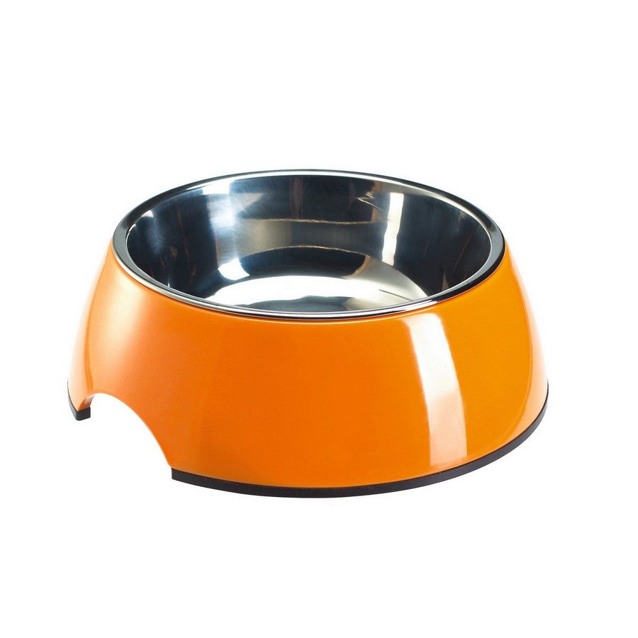 Melamine Orange Dog Bowl - Fernie's Choice Classic Country Wear for Dogs