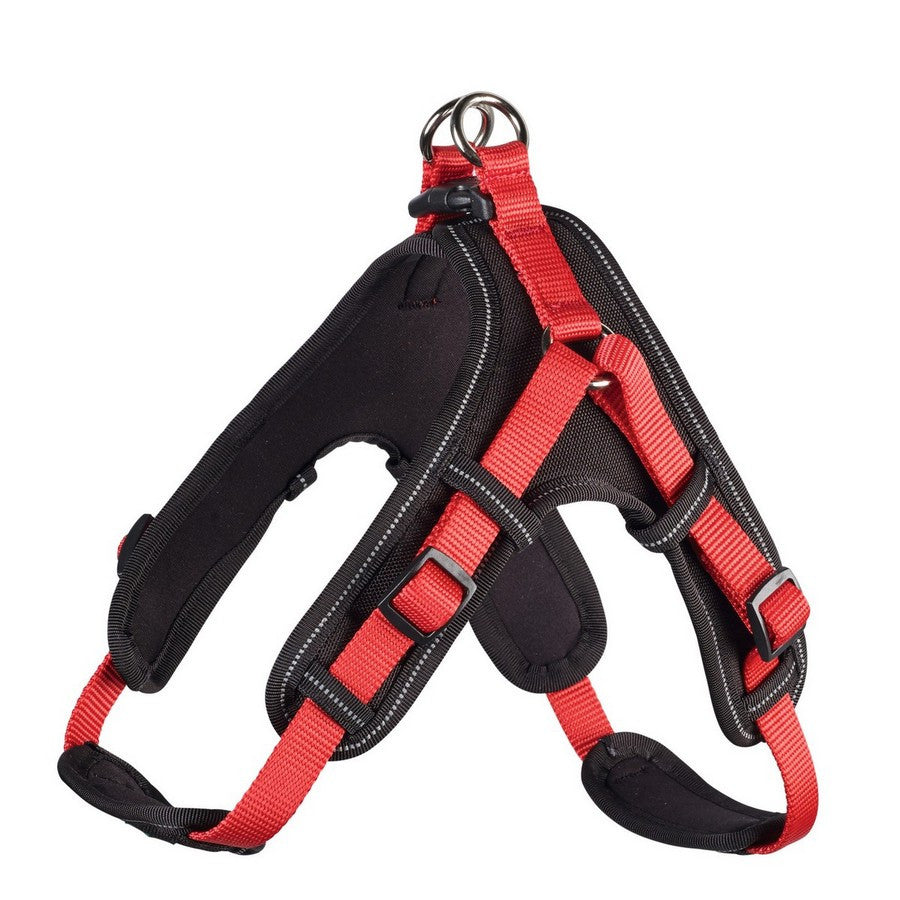 Hunter Geschirr Neoprene Vario Quick Strong Red Dog Harness - Fernie's Choice