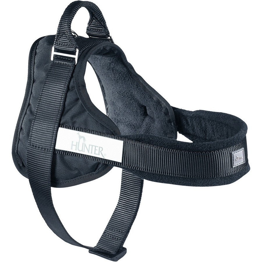 Hunter Norwegian Black Fleece Harness - Fernie's Choice Classic Country Wear for Dogs