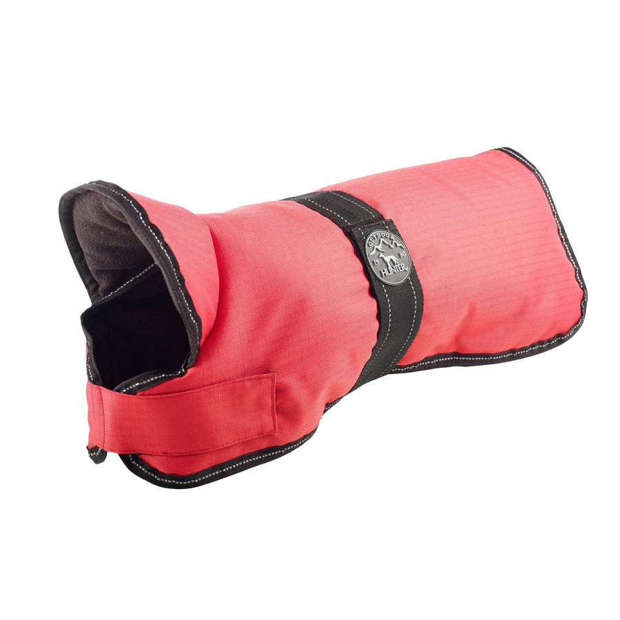 Hunter Denali Red Dog Coat - Fleeced Lined - Reflective & Water Resistant - Fernie's Choice