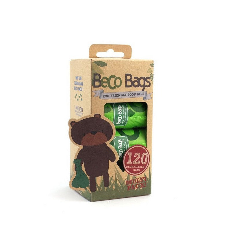 Beco Poo Bags Multi Pack 120 Bags - Fernie's Choice Classic Country Wear for Dogs