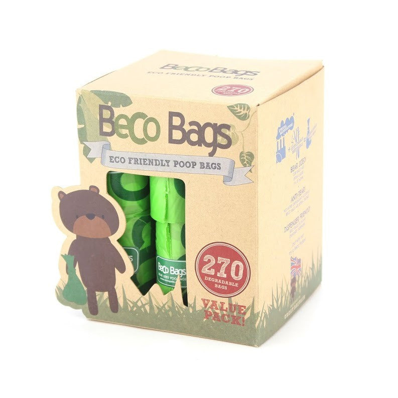 Beco Poo Bags Value Pack 270 Bags - Fernie's Choice Classic Country Wear for Dogs
