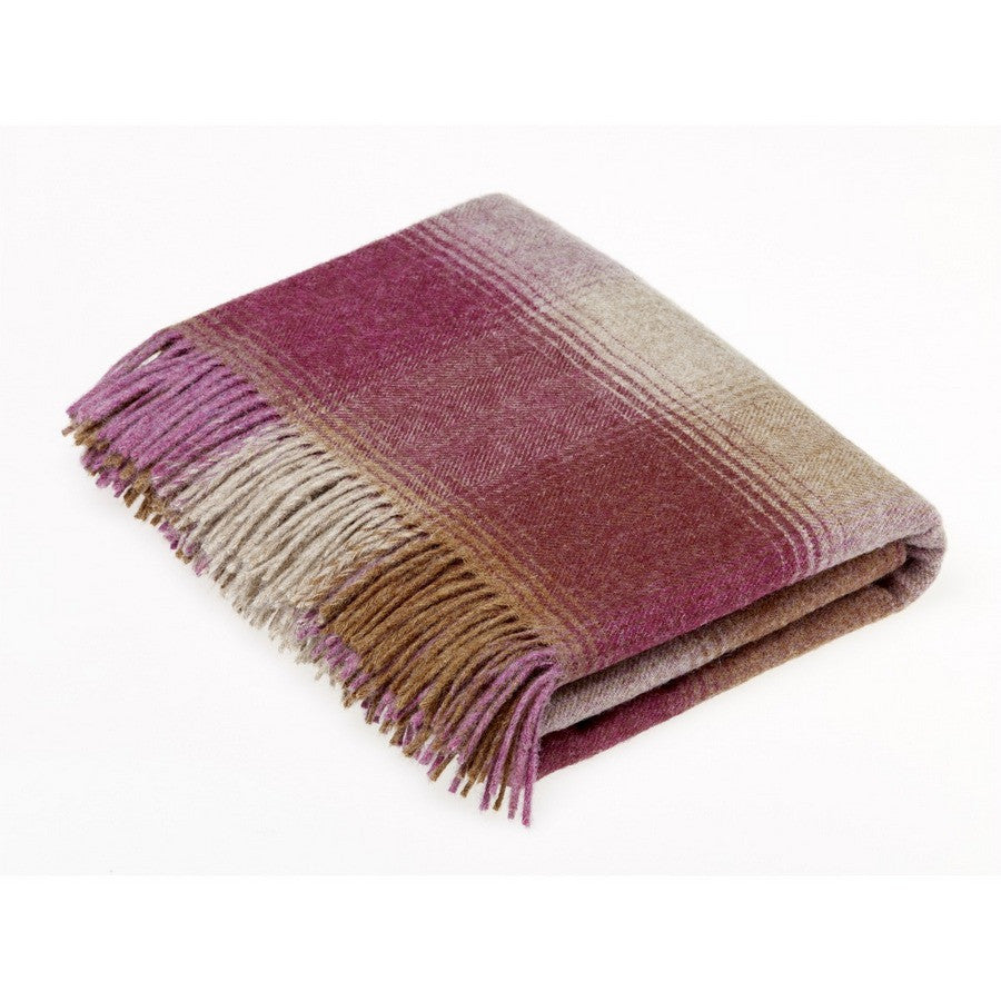 Bronte By Moon Shetland Kilnsey Berry Luxury Dog Throw - Fernie's Choice