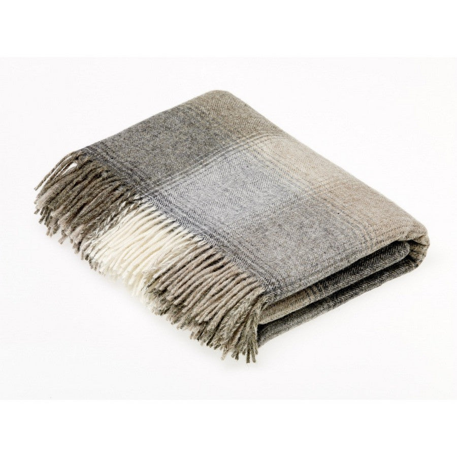 Bronte By Moon Shetland Kilnsey Natural Luxury Dog Throw - Fernie's Choice