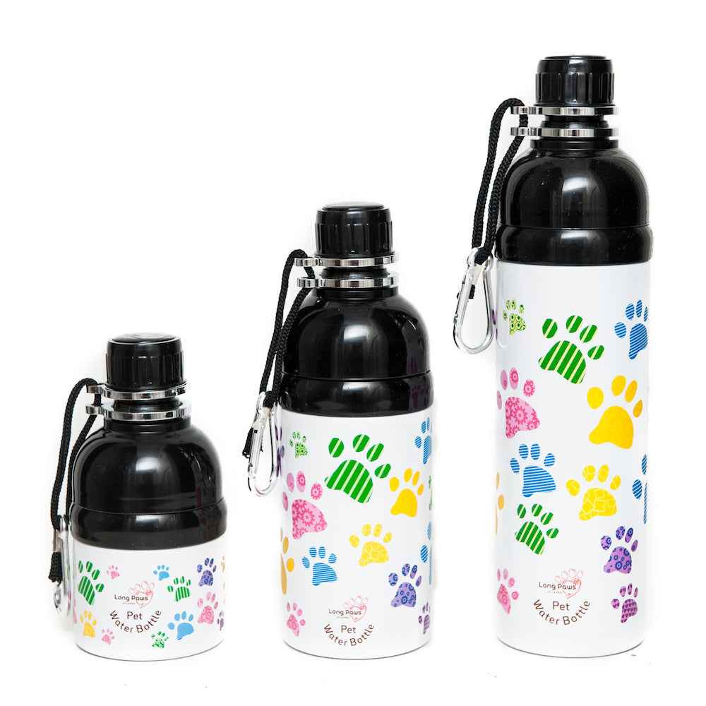 Pet Water Bottle - Paws. - Fernie's Choice Classic Country Wear for Dogs