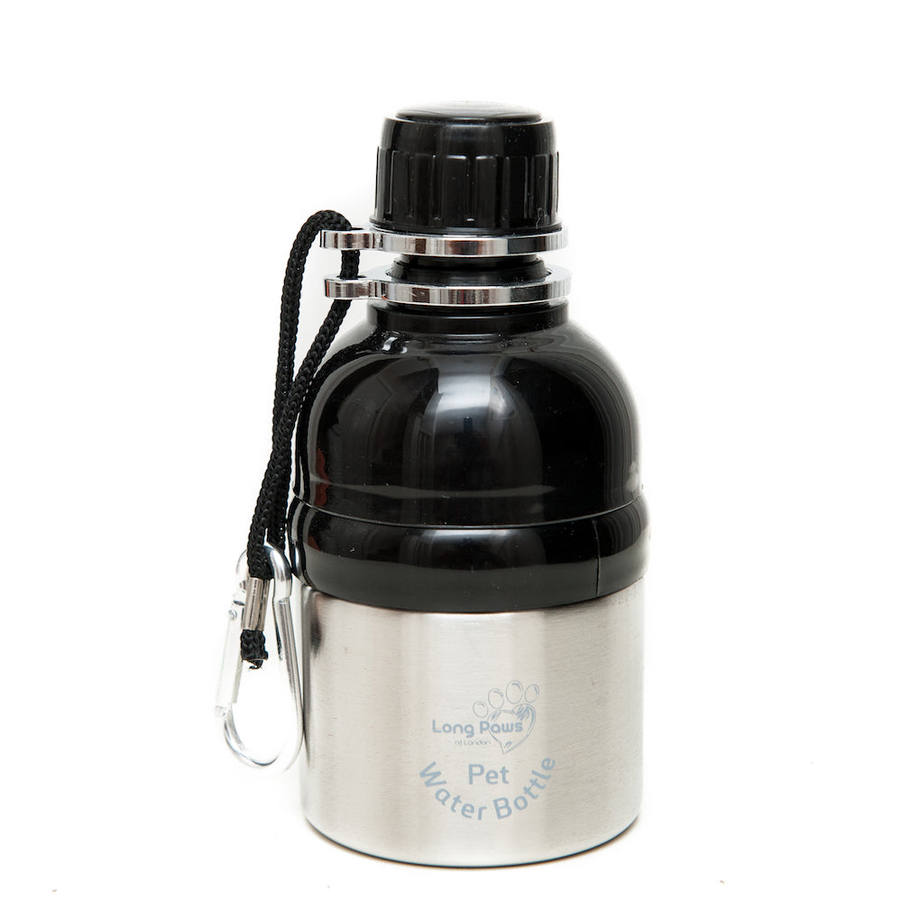 Pet Water Bottle - Silver. - Fernie's Choice Classic Country Wear for Dogs