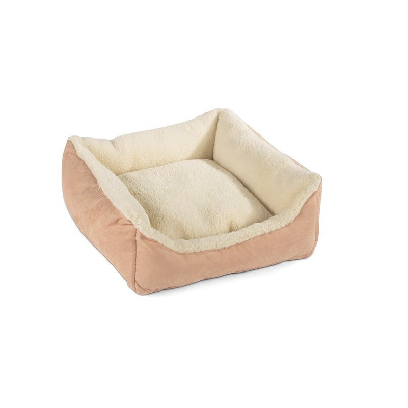 Bronte Glen Merino Wool Dog Bed - Cream - Fernie's Choice Classic Country Wear for Dogs