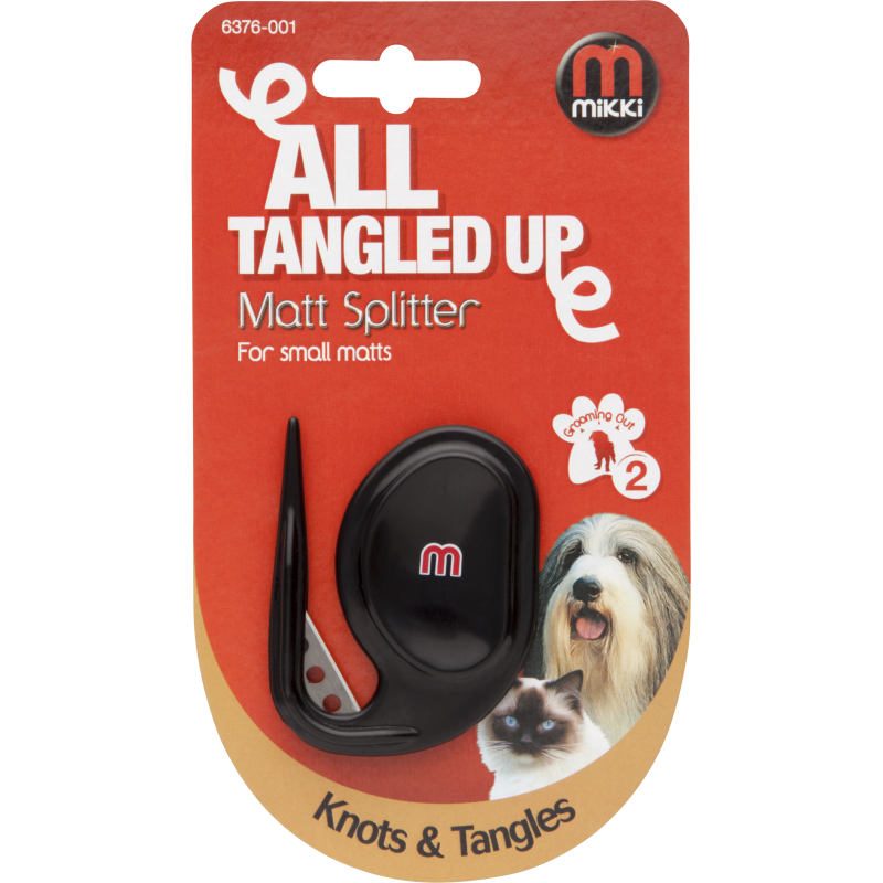 Mikki Matt Splitter - For Small Matts. Dog Grooming from Fernie's Choice Posh Dog Shop