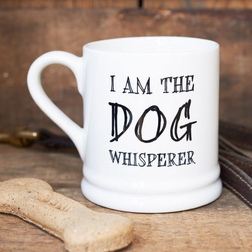 """THE DOG WHISPERER"" MUG - Fernie's Choice Classic Country Wear for Dogs"