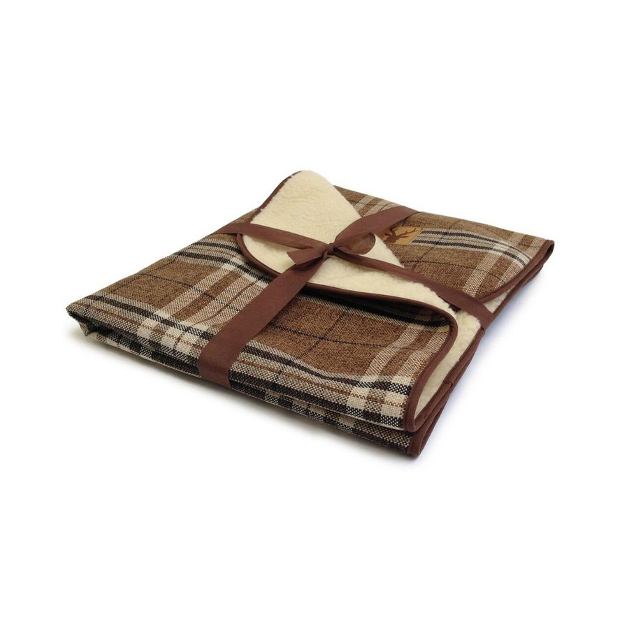 Danish Design Newton Truffle Luxury Pet Throw - Fernie's Choice Classic Country Wear for Dogs