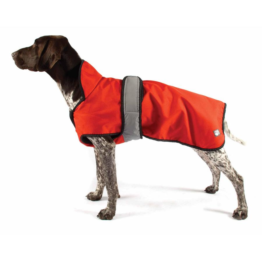 Danish Design Orange 2-in-1 Dog Coat - Fernie's Choice Classic Country Wear for Dogs