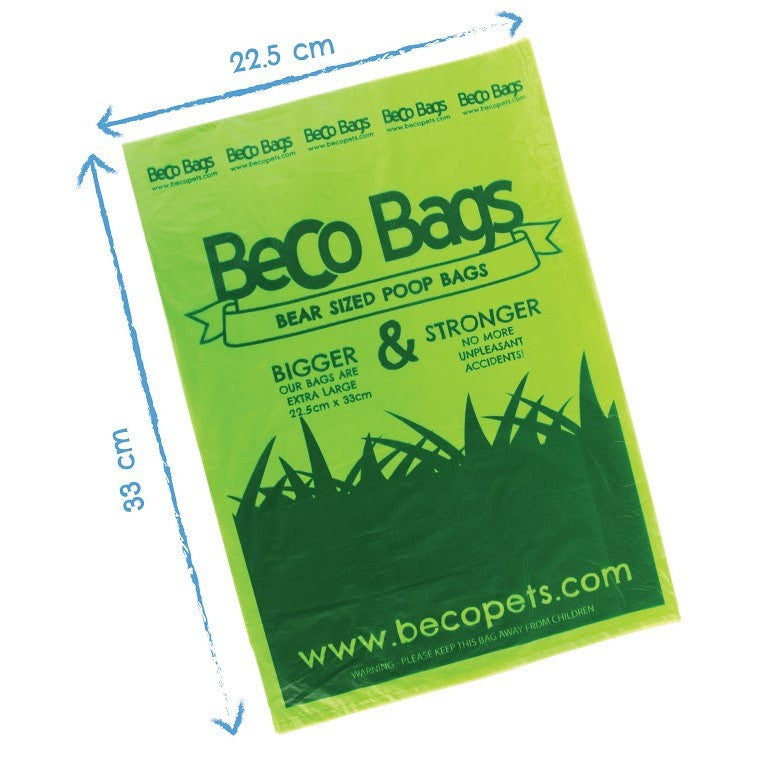 Beco Poo Bags Travel Pack 60 Bags - Fernie's Choice Classic Country Wear for Dogs