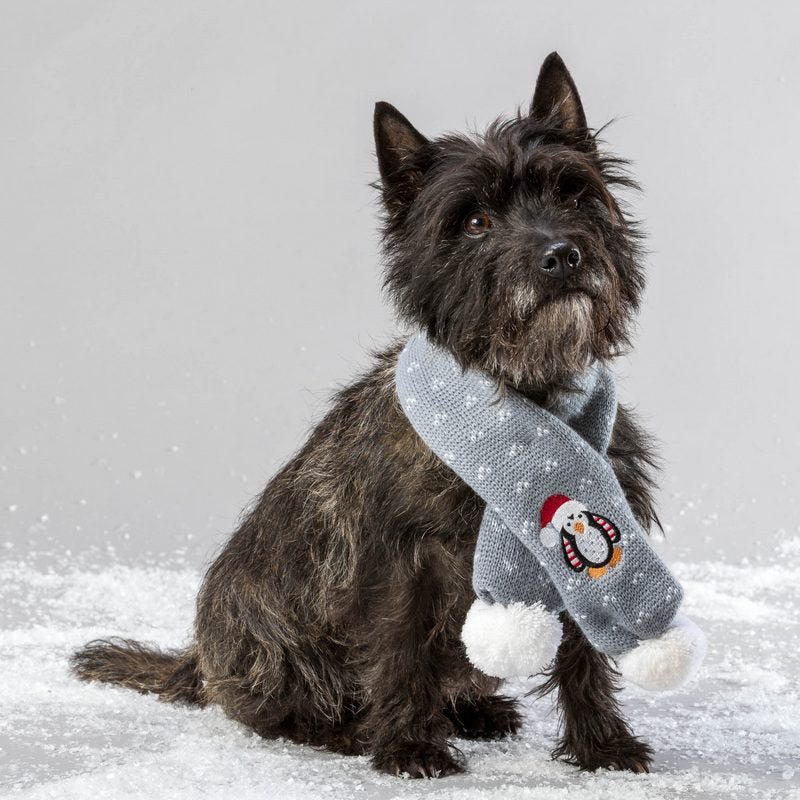 *Christmas Penguin Dog Scarf - Fernie's Choice Classic Country Wear for Dogs