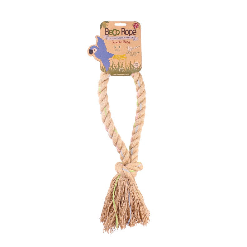 Beco Jungle Rope Ring Dog Toy - Fernie's Choice Classic Country Wear for Dogs