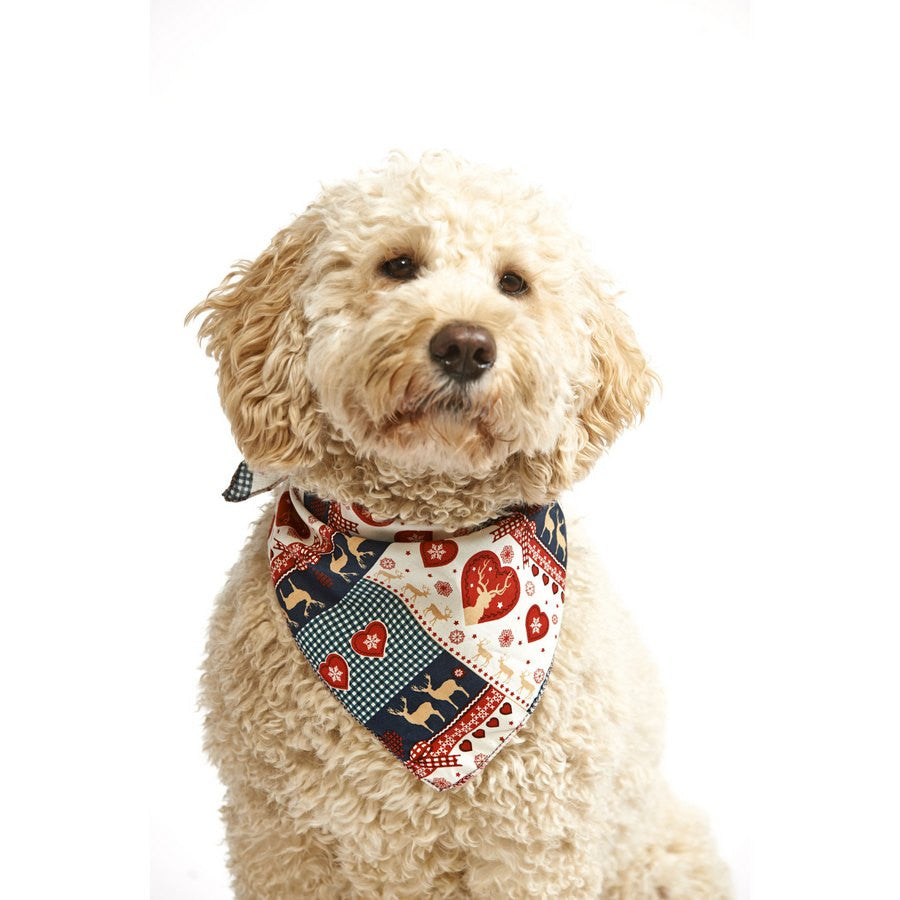 *Reindeer Love Dog Bandana - Fernie's Choice Classic Country Wear for Dogs