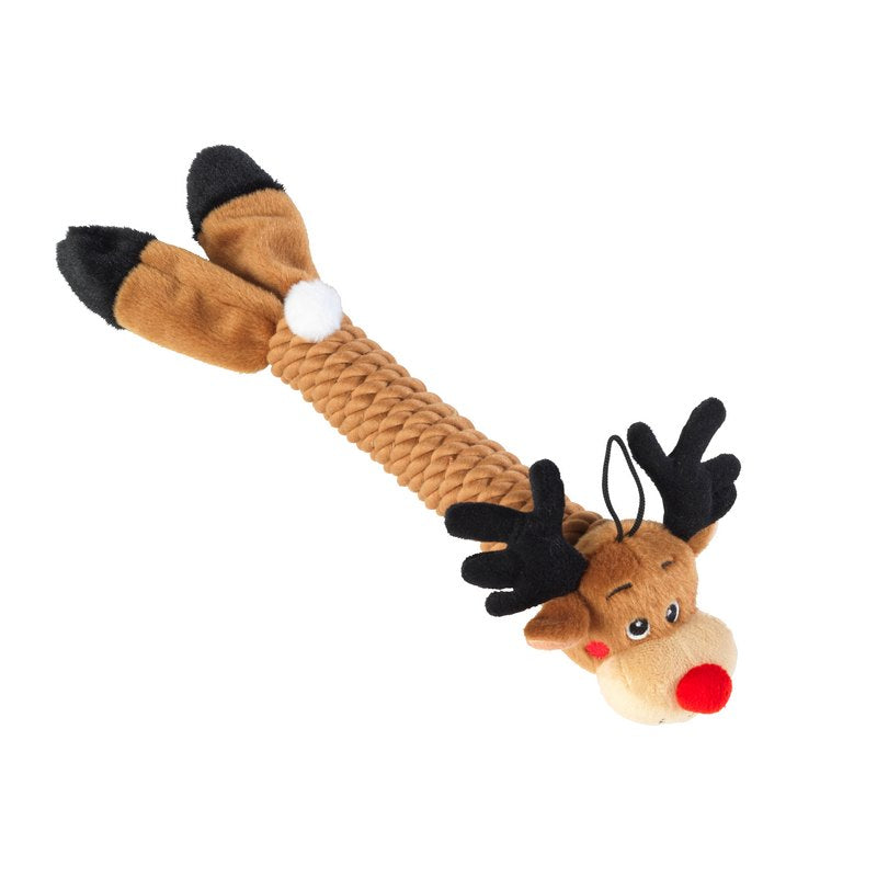 *Rudolph Rope Thrower Dog Toy - Fernie's Choice Classic Country Wear for Dogs