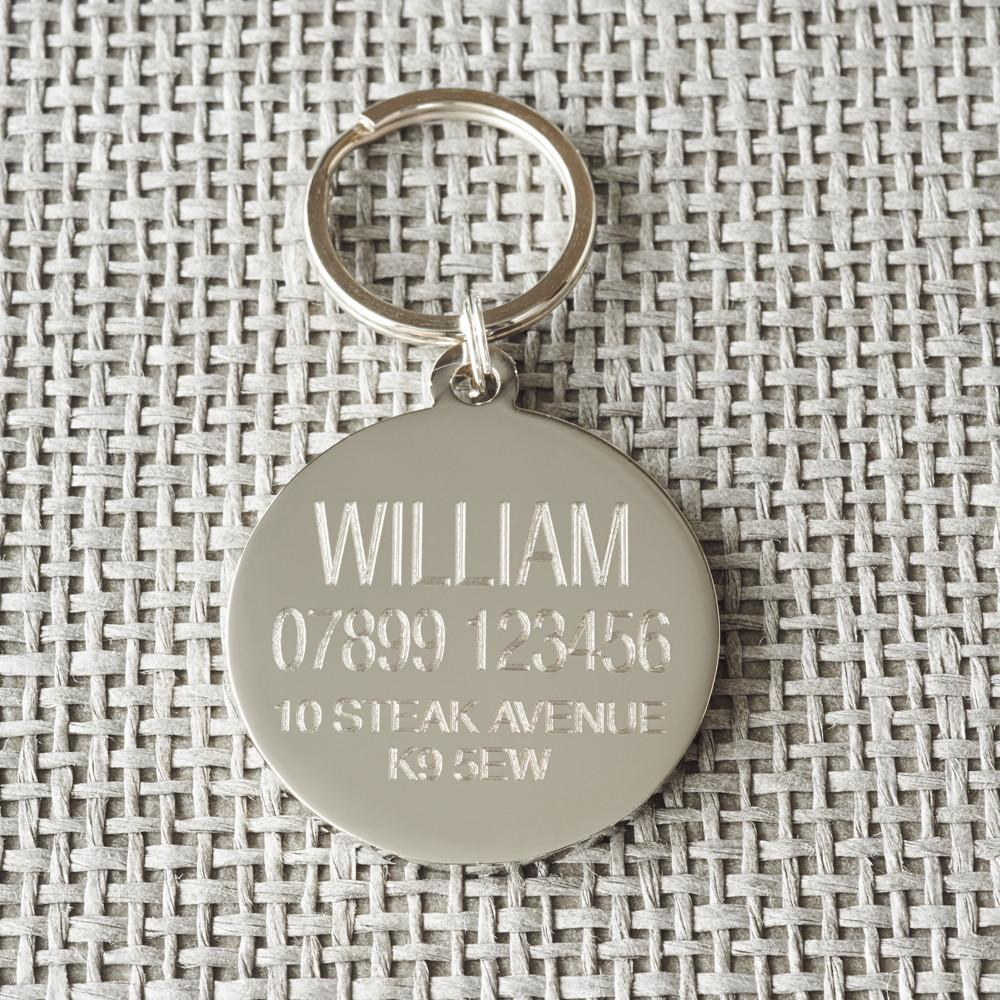 """Have your people call my people"" Dog ID Tag - Fernie's Choice Classic Country Wear for Dogs"