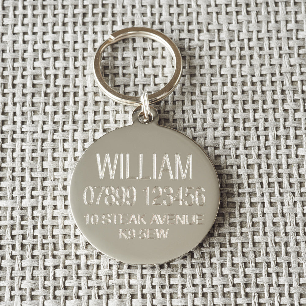 """Obedience Classes are for Wimps"" Dog ID Tag - Fernie's Choice Classic Country Wear for Dogs"