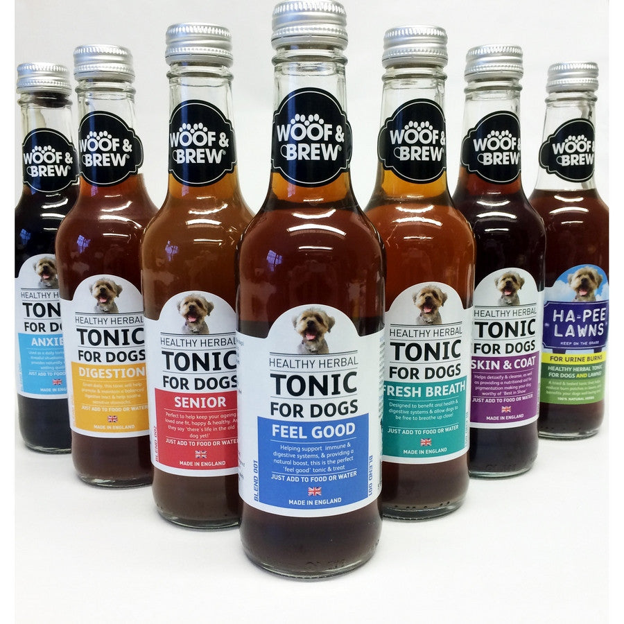 Anxiety Dog Tonic from Woof & Brew - Fernie's Choice Classic Country Wear for Dogs
