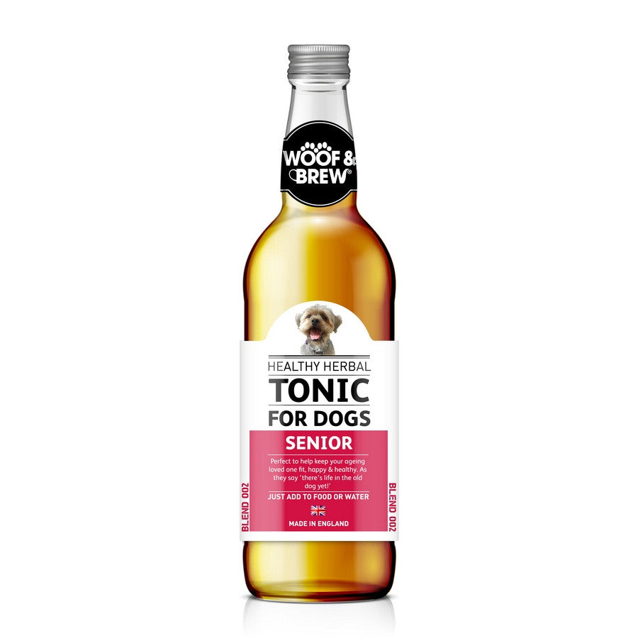 Senior Herbal Dog Tonic from Woof & Brew - Fernie's Choice