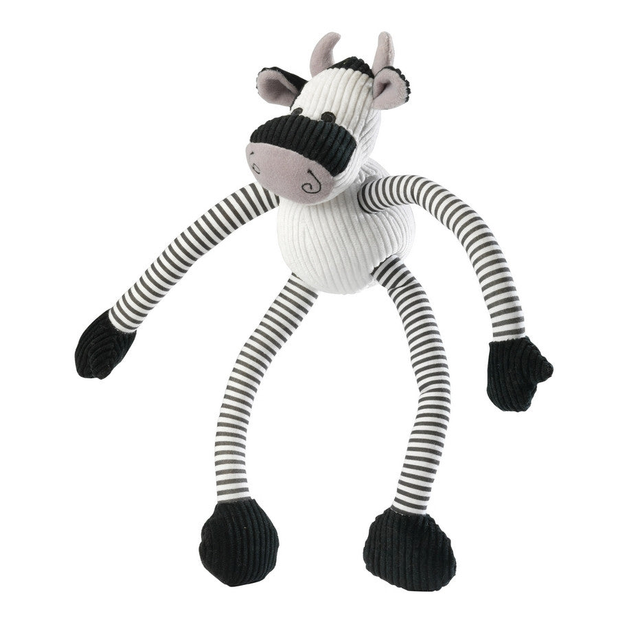 Cow Long Legs Stripe Cord Dog Toy - Fernie's Choice Classic Country Wear for Dogs