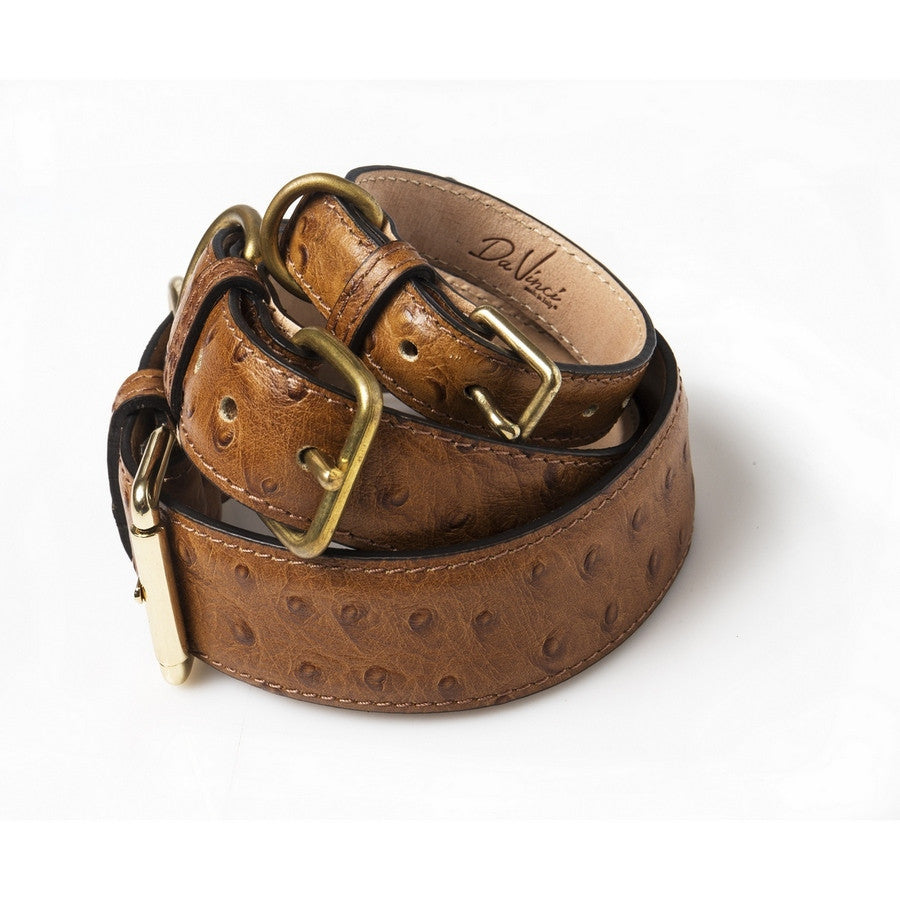Da Vinci Luxury Leather Dog Collar - Italian Design - Fernie's Choice