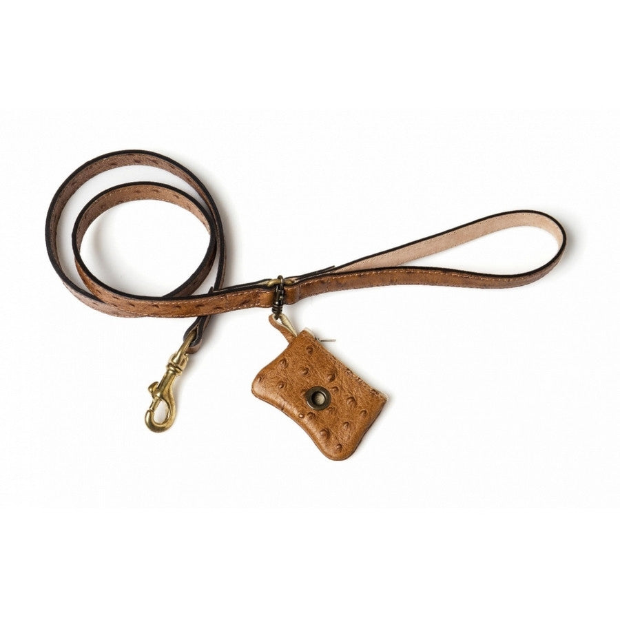 Da Vinci Luxury Leather Dog Lead - Fernie's Choice Classic Country Wear for Dogs