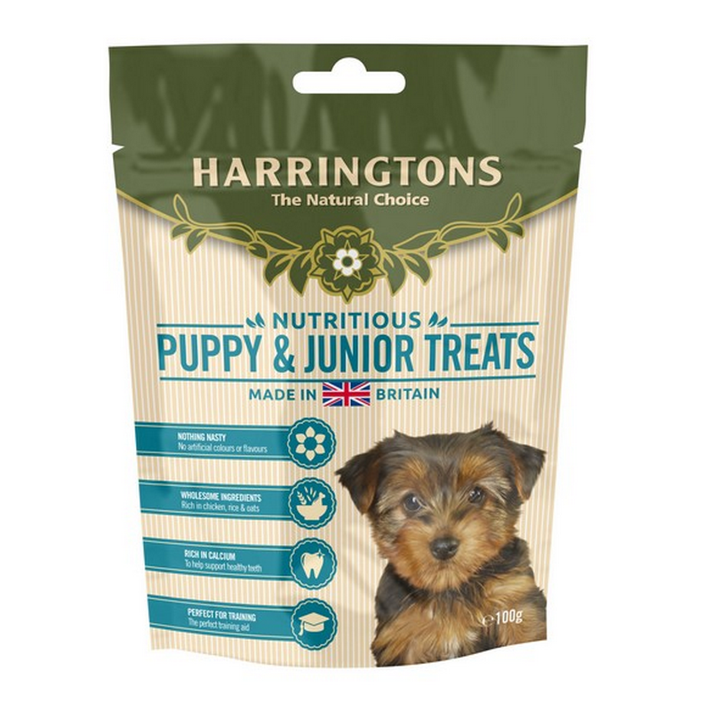 Harringtons Puppy Treats 100g - Fernie's Choice Classic Country Wear for Dogs