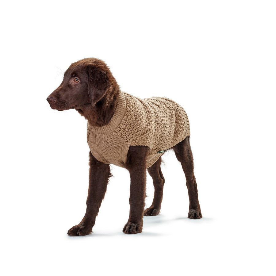 Hunter Dog Pullover Jumper Malmö - Beige - Fernie's Choice Classic Country Wear for Dogs