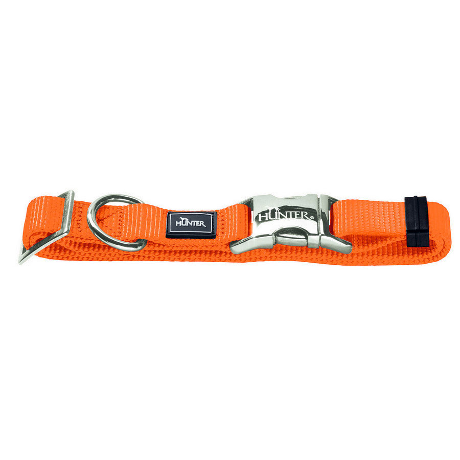 Hunter Nylon Dog Collar - Orange - Fernie's Choice Classic Country Wear for Dogs