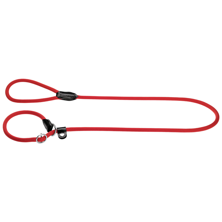 Hunter Retriever Rope Lead - Red - Fernie's Choice Classic Country Wear for Dogs