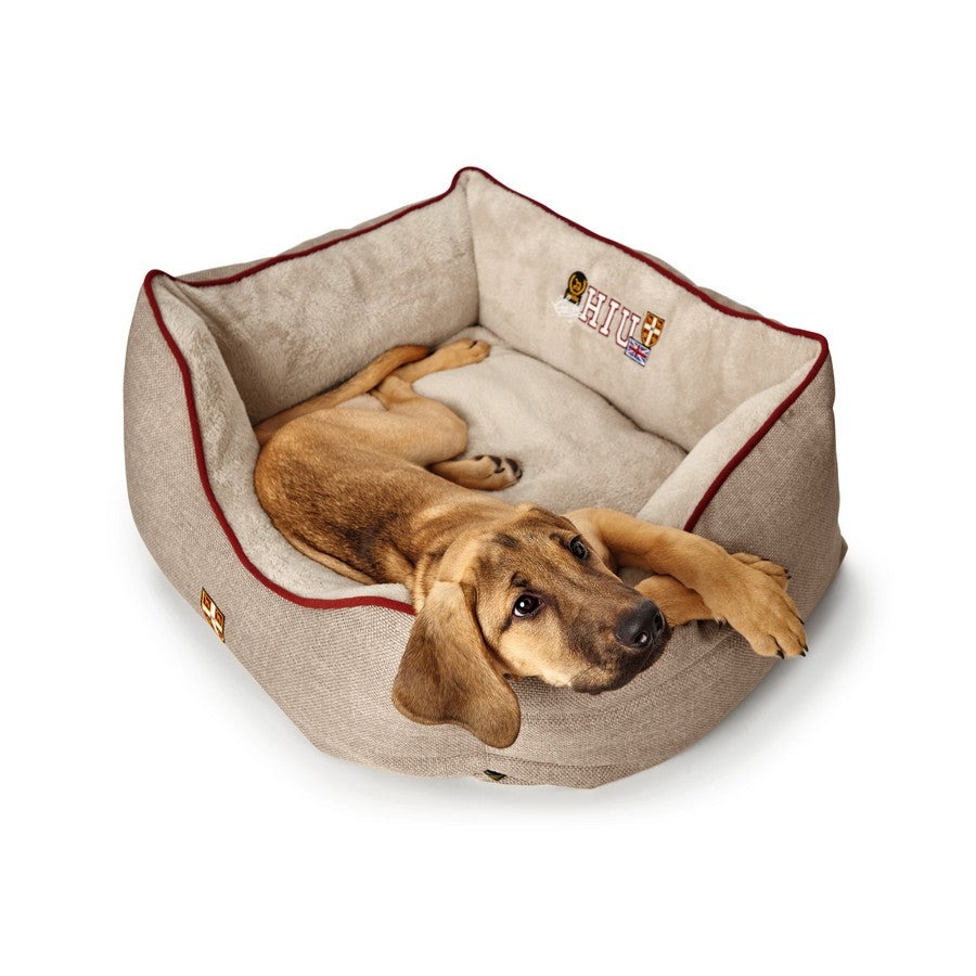 Hunter University Dog Bed Sofa Grey - Fernie's Choice Classic Country Wear for Dogs