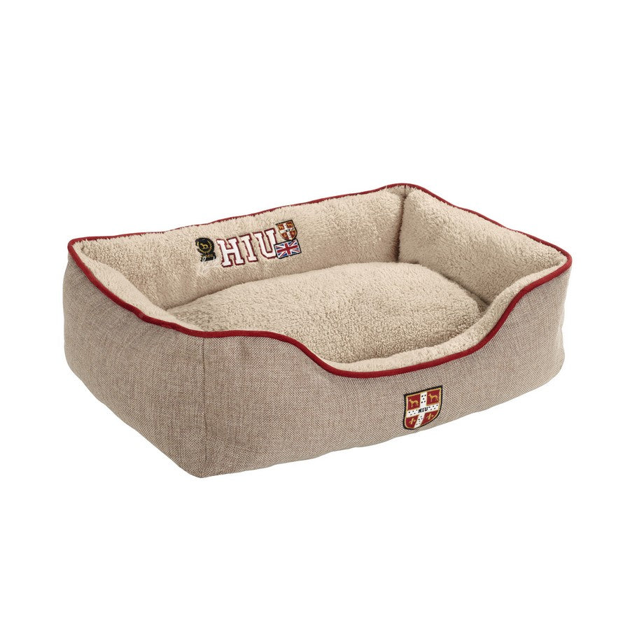 Hunter University Dog Bed Brown - Fernie's Choice Classic Country Wear for Dogs