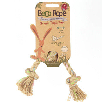 Beco Jungle Rope Triple Knot Toy