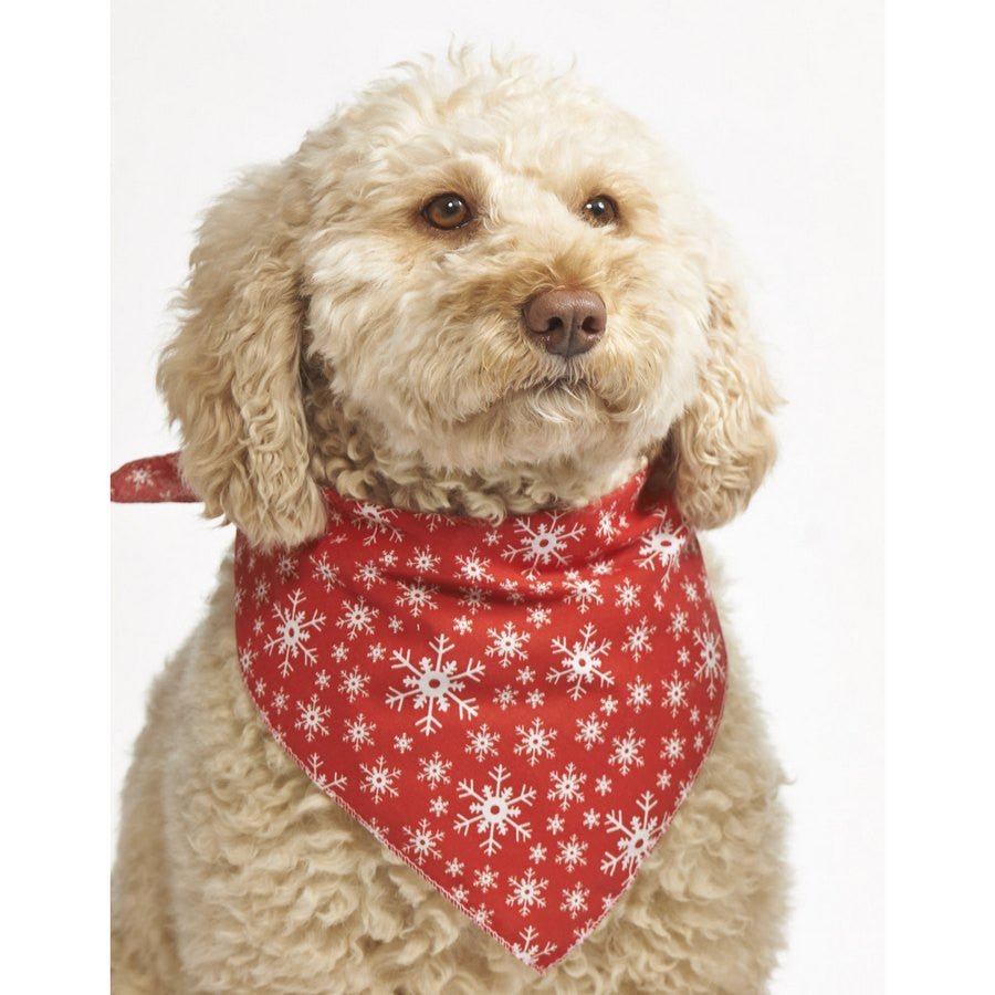 *Mini Snowflake Dog Bandana - Fernie's Choice Classic Country Wear for Dogs