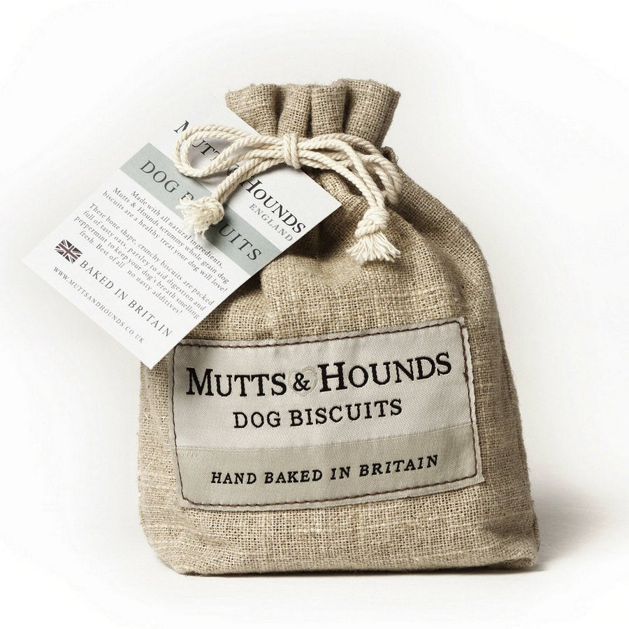 Mutts & Hounds Dog Biscuits 150g - Fernie's Choice Classic Country Wear for Dogs