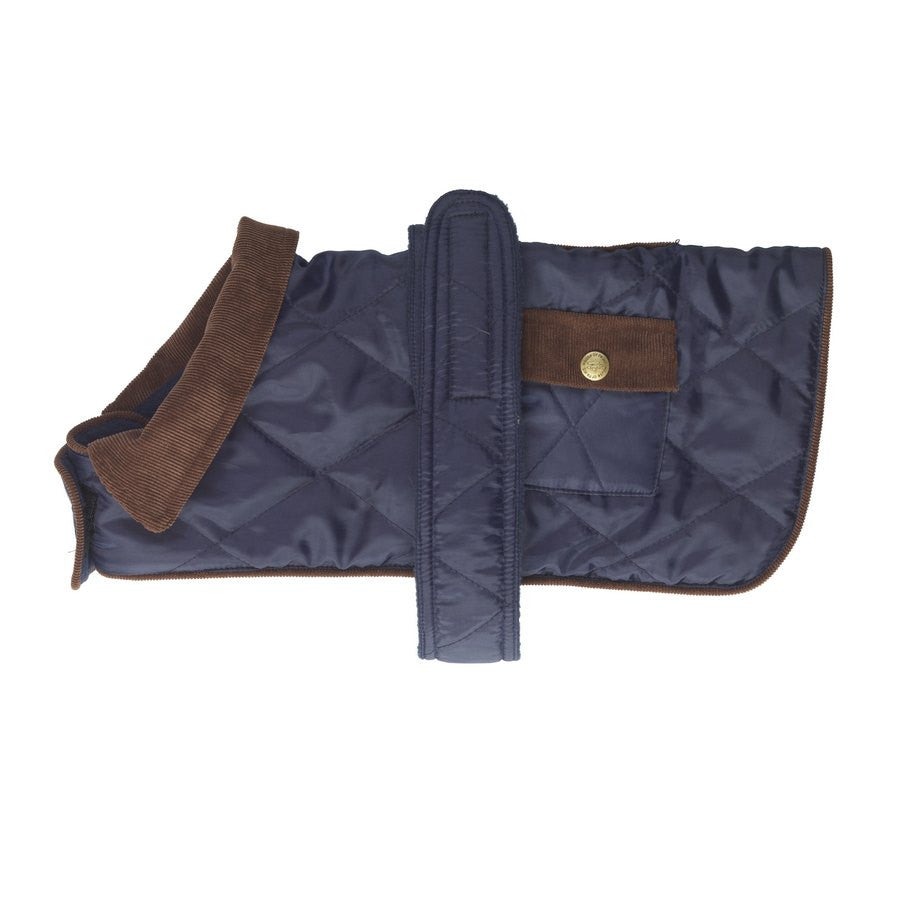 Navy Waterproof Quilted Dog Coat - Fernie's Choice Classic Country Wear for Dogs