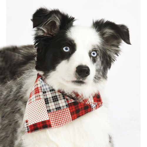 *Patchwork Pete Dog Bandana - Fernie's Choice Classic Country Wear for Dogs